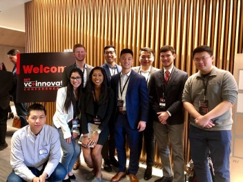BizTech members at the MIT VC+Innovation Conference