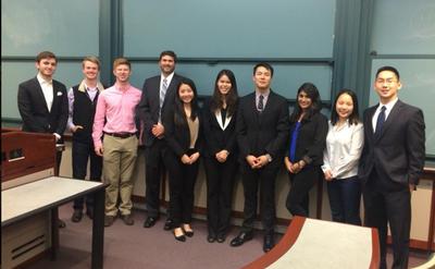 Case Competition Presenters